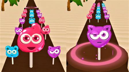 疯狂水杯:我要不断的收集棒棒糖,才能把水杯倒满!