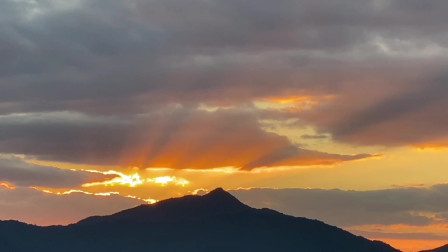 《海西福建》42、夕阳下的群山