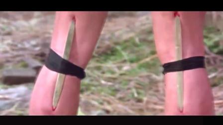 徒弟的腿被师傅绑上竹签,逼他后空翻练武,结果成就绝世武功