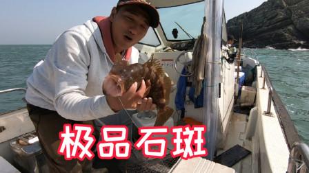 今年首次用活虾,海货狂咬还钓了一条极品石斑鱼,一条就值1000多
