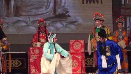 秦腔演出《法门寺》,美女演员舞台表演端庄秀丽,唱得太有劲道了