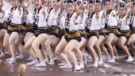 日本女孩街头表演,看完瞬间对日本美女失去了兴趣,镜头跟拍全程