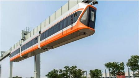 中国制造的空中列车有多牛?370吨列车天上跑,美国直呼不可能