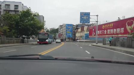 四川广元市区,山东小夫妻前往千佛崖景区