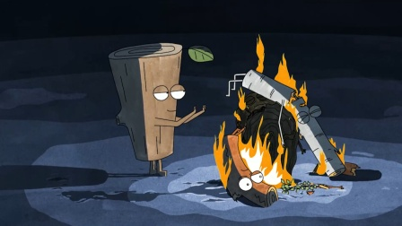 揭露人性的动画,5块木头一块过冬,为取暖竟不惜自相残杀!