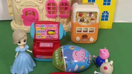 趣味玩具:乔治让小奥特曼先结账