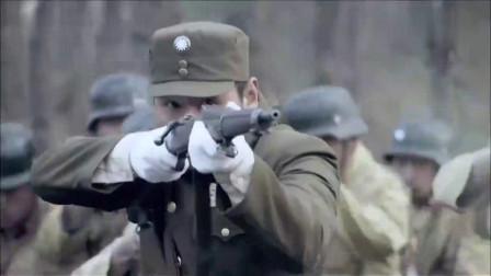 第一伞兵队:鬼子偷袭美军,哪料国军在身后,前后夹击好看了!
