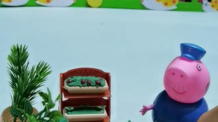 少儿玩具:猪爷爷的菜地好多菜都熟了