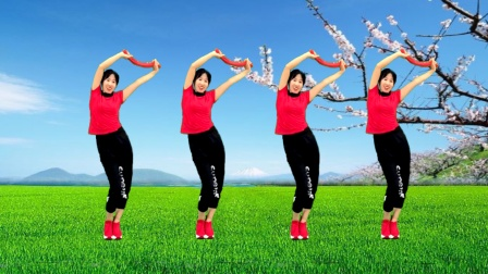 拍打健身操《踏浪》拍打穴位,拍走疾病,拍出健康