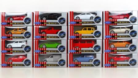 炫彩金属汽车玩具模型拆盒
