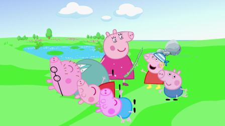 动画剧场:一根菜竟然把佩奇乔治和猪爸爸都吓晕了,这是为什么?