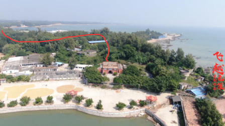 广西钦州三娘湾乌雷岭伏波庙,有名的凤地,至今已有千年历史