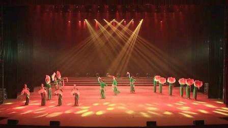 四川省乡村艺术节云观演,广元市舞蹈《我的祖国》