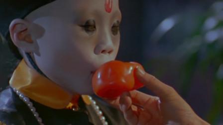 英叔养的小僵尸真可爱,不吸血吃柿子,还会用手语交流