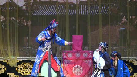秦腔《韩琦杀庙》,演员舞台表演刚劲有力,神韵俱佳