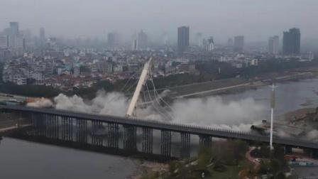中国一座了不起的大桥,仅通车89天就被炸毁,民众直呼:炸的好