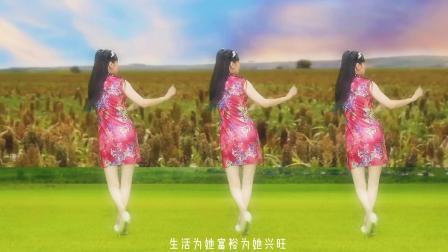 张也《在希望的田野上》欢快喜庆,背面带你健身又回味