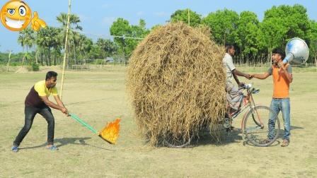 印度搞笑一家人,全程哈哈大笑,真是太有意思了!