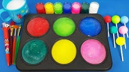 趣味过家家亲子游戏,魔法染料盘创意新玩法激发宝宝色彩创造力!
