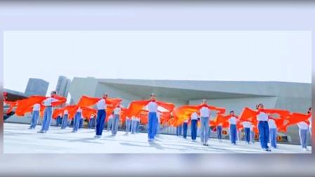 青春洋溢的舞蹈《幸福红》黄豆豆老师杰作。