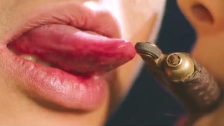 用舌头打着火,除了邓超还有谁