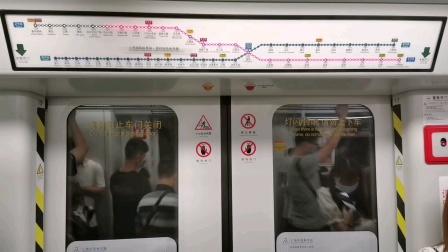 [😷]广州地铁2号线(飞翔公园➡︎白云公园)运行与报站A4.南株-I🇨🇳(02×21-22)🐭