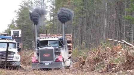 美国卡车排气筒朝上的真相是什么?这两个说法最靠谱