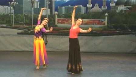 米克拉依老师维吾尔族舞蹈教学:《跳吧》女子动作讲解