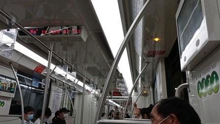 上海地铁10号线热带鱼二世天潼路-四川北路(终点站基隆路)