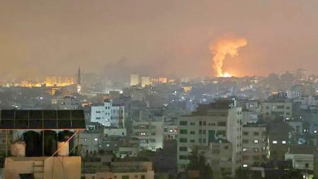 以色列疯狂报复,加沙30多所学校全被炸没了,美俄欧罕见态度一致