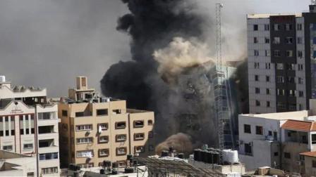 中东战争升级,哈马斯大批关键性设置被炸毁,5层楼房被夷为平地