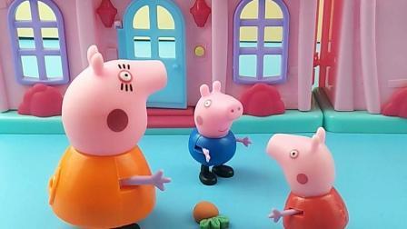 乔治不喜欢胡萝卜, 他可不是小兔子