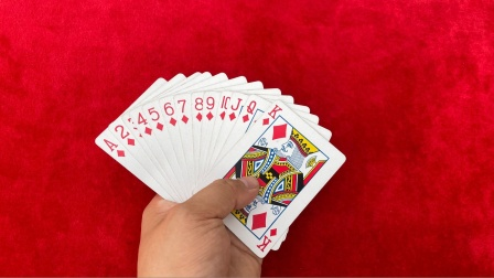 无论你把牌洗得再乱,我都能发出一条龙