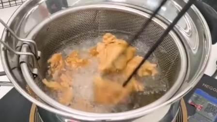 厨房里不能少的多功能锅,有了它以后油炸任何食品都方便多了!