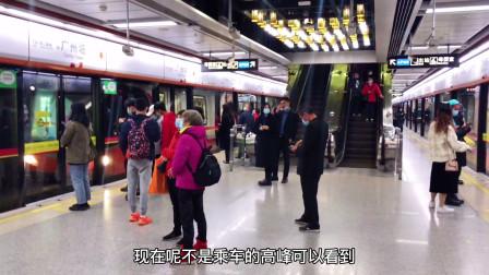 广州最拥挤的地铁线,常年霸居客流量榜首,会是哪条地铁呢?