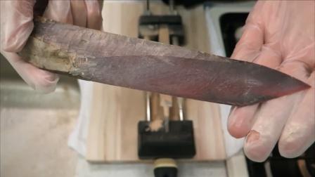 """世界最硬的食物?死后做成一把""""锋利的刀"""""""