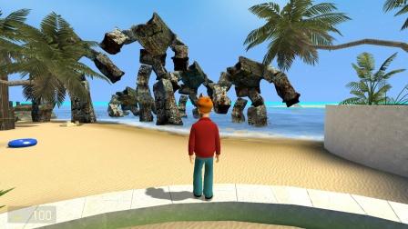 小坤来到海边度假,怎么发现了那么多怪兽?