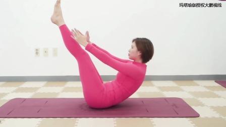 减掉水桶腰大肚腩,3个体式简单好学瘦得快