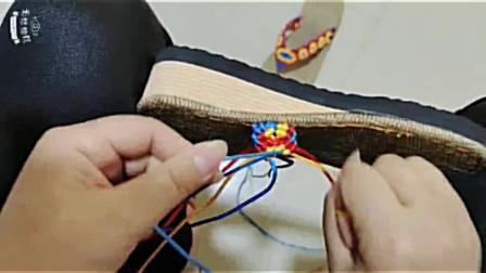 小雏菊人字凉拖的编织(全程)详细讲解,通俗易懂,一步一步照着钩编,就能完成!