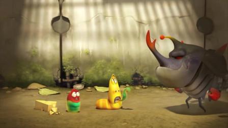 爆笑虫子:大黄和小红意外获得超能力