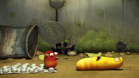 爆笑虫子:小红要被大黄整死了