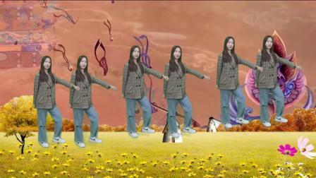 DJ版美女热舞《口是心非》,劲爆嗨曲动感舞步,美出天际