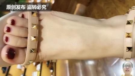 夏季买一款镶钻石的凉鞋,拉风又时尚呢?