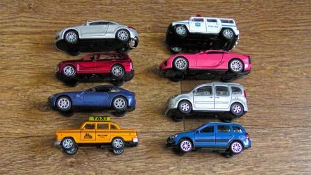 炫酷的跑车玩具展示