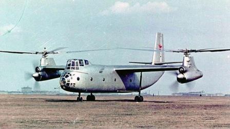 创造八项世界纪录,苏联白手起家的Ka-22直升机