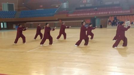 北关第一代表队参加全县(鲁汾杯)太极拳比赛