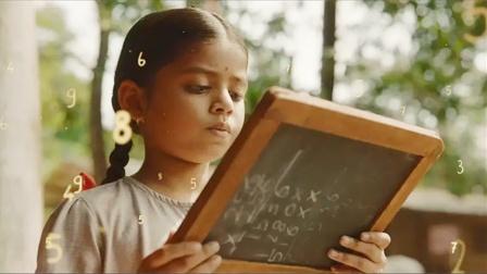 五岁女孩一天学也没上过,却能在一秒钟内,算出任何数学题,电影