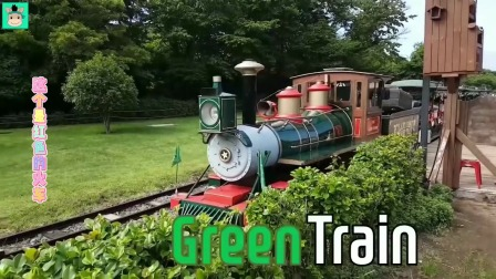 不同颜色的火车,你喜欢哪一列呢?