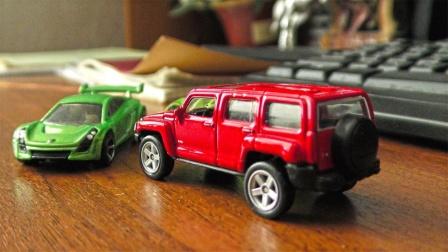 11辆迷你汽车玩具模型展示