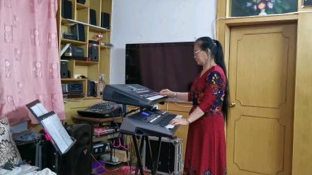 《我和我的祖国》视频双电孑琴演奏2021.5.20.